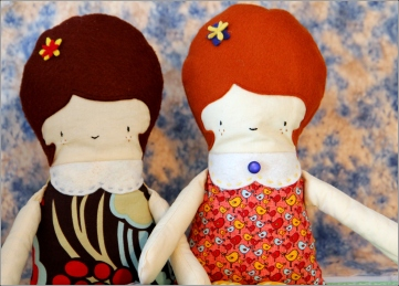 2Dolls&Clouds SewnInVermont by DenaTBray