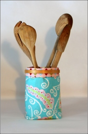Container with Spoons Sewn In Vermont ©