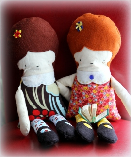 Friends, by Dena T Bray for Sewn In Vermont©