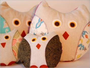 Owls!SewnInVermont©