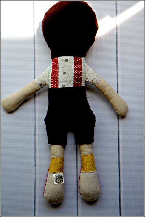 Boy Doll Back, Sewn in Vermont©
