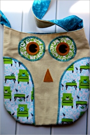 Owl Tote Bag, Sewn in Vermont©