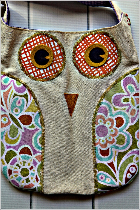 Owl Tote Bag, Sewn in Vermont