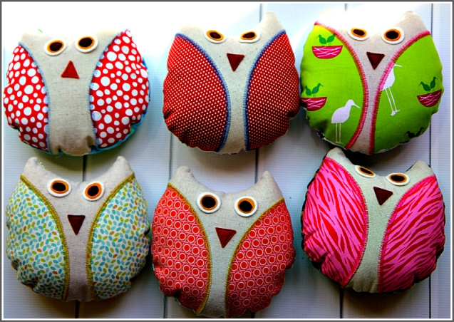 Small Owls, Sewn in Vermont©